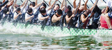 Dragon Boat Races Royalty-vrije Stock Fotografie