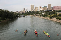 Dragon boat races Royalty Free Stock Photography