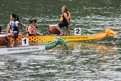 Dragon boat races Royalty Free Stock Photos