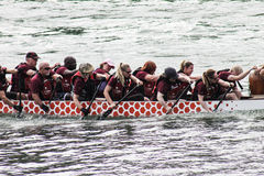 Dragon boat races Royalty Free Stock Image