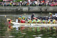 Dragon Boat Races 2017 en Taiwán Imagenes de archivo
