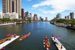 Dragon Boat Races Stock Photography