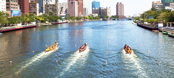 Dragon Boat Races Stock Image