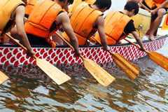 Dragon-boat racing Royalty Free Stock Photography