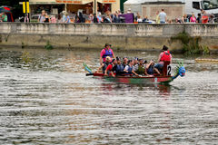 Dragon Boat Racing Photographie stock