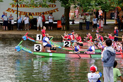 Dragon Boat Racing Photographie stock libre de droits