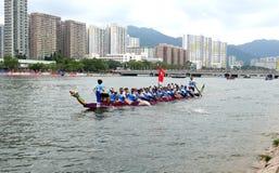 Dragon boat racing Stock Photo