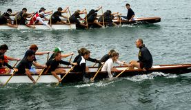 Dragon boating Royalty Free Stock Photo