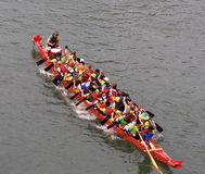 Dragon Boats Royalty Free Stock Photos