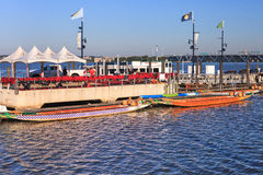 Dragon Boats National Harbor Washington DC Royalty Free Stock Image