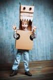 Dragon boy Royalty Free Stock Image
