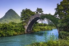 Dragon Bridge imagens de stock