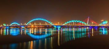 Dragon bridge Royalty Free Stock Images