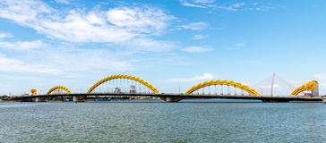 Dragon Bridge in Da Nang City May 2015 Stock Photos