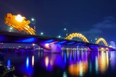 Dragon Bridge, Da Nang, Vietname imagens de stock