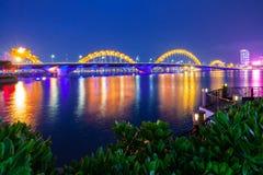 Dragon Bridge, Da Nang, Vietname imagens de stock royalty free