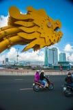 The Dragon Bridge Royalty Free Stock Photos