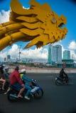 The Dragon Bridge Royalty Free Stock Photography