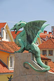 Dragon on a Bridge Stock Photography