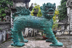Dragon. Of a Buddhist temple in Vietnam Stock Photography