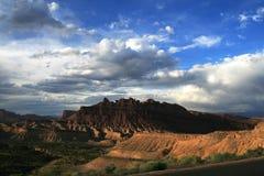 Dragon Canyon em Ut? imagem de stock