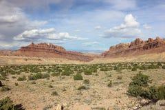 Dragon Canyon preto Utá imagem de stock
