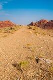 Dragon Canyon Road noir Images libres de droits