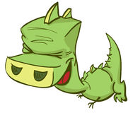 Dragon cartoon Royalty Free Stock Photo