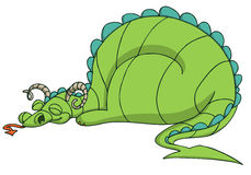 Dragon cartoon Stock Images