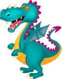 Dragon cartoon vector illustration