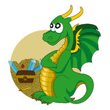 Dragon cartoon Royalty Free Stock Photography