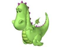 Dragon Cartoon - Prayers Royalty Free Stock Photography