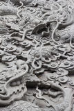 The dragon carve no.1. The dragon carve Chinese style no.1 royalty free stock photo
