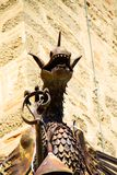 Dragon of the castle of Castiglioncello 01 stock photography