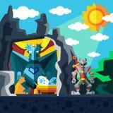 Dragon Cave Lizenzfreie Stockbilder