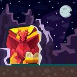 Dragon Cave. Stock Photo