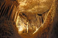 Dragon caves on Mallorca Stock Image