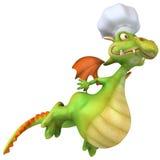 Dragon chef Stock Photos