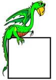 Dragon childrens illustration Stock Images
