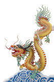 Dragon on chinese cloud Stock Photo