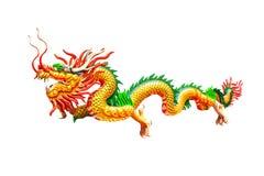 Dragon Chinese. Isolated background Stock Photo