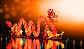 Dragon Chinese New Year stock foto