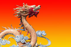 Dragon from Chinese tales Stock Photography