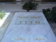 Josip Broz Tito grave Stock Image