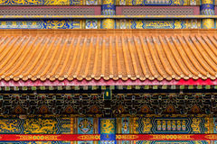 Dragon Chinese Temple Kammalawat, Thailand Royalty-vrije Stock Foto's