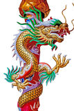 Dragon chinese in Thailand Stock Images