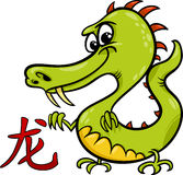 Dragon chinese zodiac horoscope sign Royalty Free Stock Photo