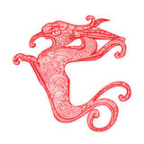 Dragon- Chinese zodiac Stock Photo