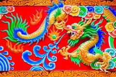 Dragon chinois Photos libres de droits