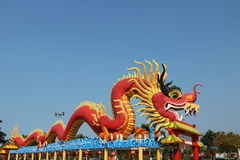 Dragon chinois Photo libre de droits